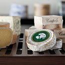 photography of group of cheeses in store for web-site and promotional printed products