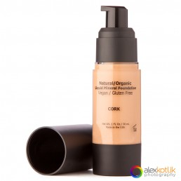 Liquid mineral foundation, cosmetics