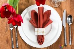 Table setting , dinner setting, plates, flatware, dinnerware, flowers
