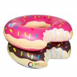 stack of 2 water inflatables