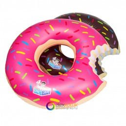 inflatable donut summer water fun